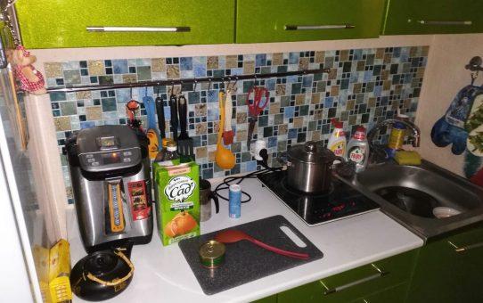 Преобразили кухоньку