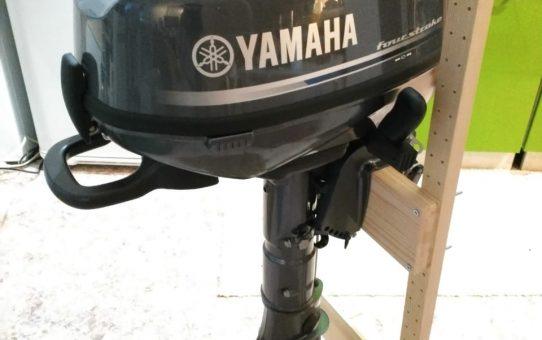 YAMAHA F5. Наш первый японский лодочный мотор.