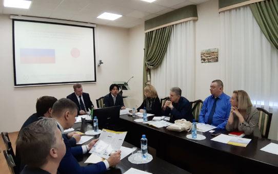 Рабочая встреча с представителем японской ассоциации по торговле с РФ и ННГ