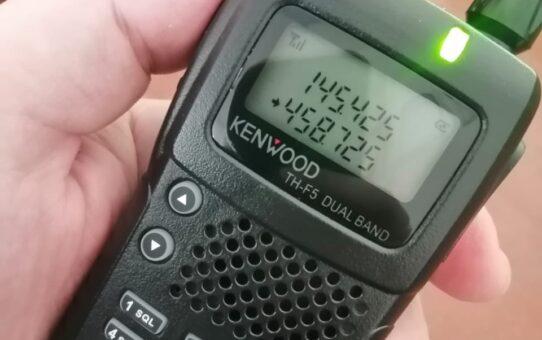 Новый трансивер KENWOOD TH-F5 Dual Band