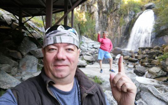 Телецкое озеро. Водопад Корбу